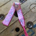 Imagen de muñequera diseño de unicornios rosa