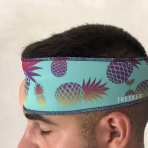 bandanas para el pelo de piñas de colores